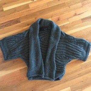 Isabel Benenato Heavy knit cardigan, cropped